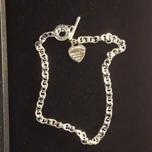 Jewelry - Tiffany and Company Silver Necklace 20 inch